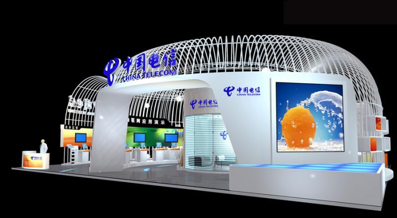 中国电信展台设计